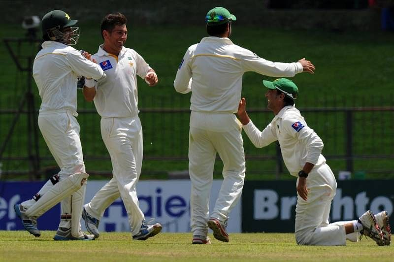 Pakistan on top after Yasir Shah's 4-wicket haul
