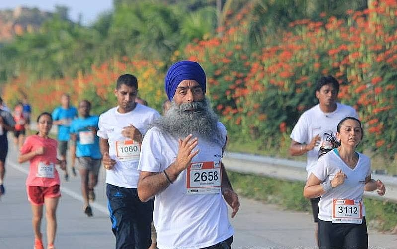 Real people, real runners: Gurcharan Singh, runner and meditator