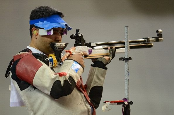 Men's Pistol and Women's Rifle Shooters out of ISSF World Cup