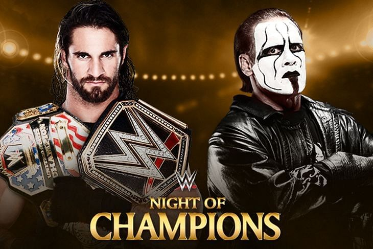 Seth Rollins vs Sting for the WWE World title announced for Night of Champions