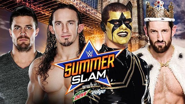 Photo of Amell training hard for SummerSlam, Steve Austin vignette, new NXT theme song