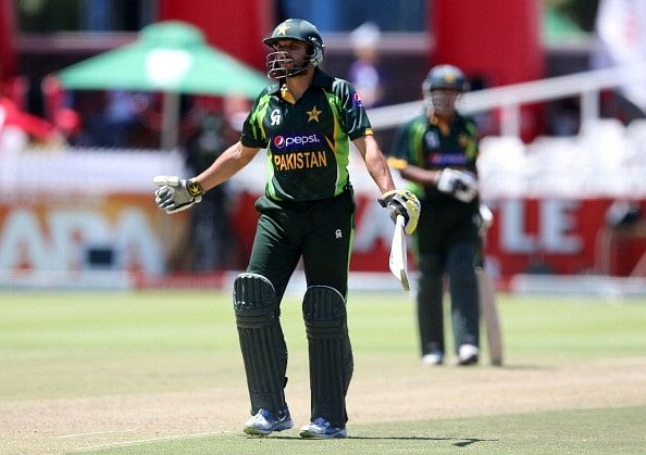 Video: You can't get more unlucky than Shahid Afridi