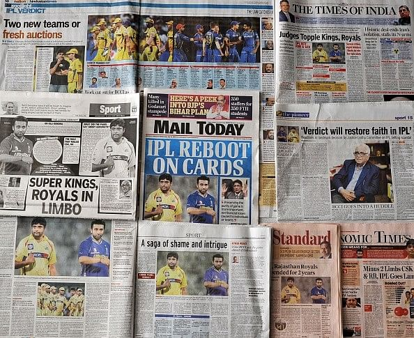 BCCI plan on retaining suspended IPL teams CSK and RR