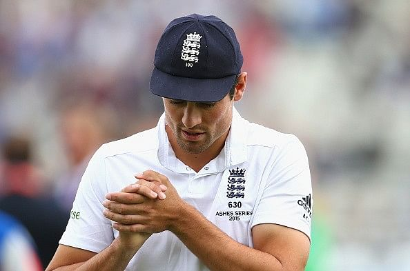James Anderson feared Alastair Cook would quit under pressure