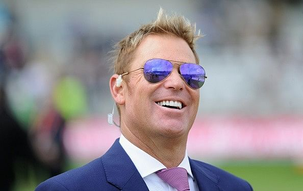 Shane Warne started supporting Chelsea 26 years ago just to save his own life