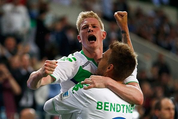 Bendtner equalises and then scores winning penalty as Wolfsburg beat Bayern in German Supercup
