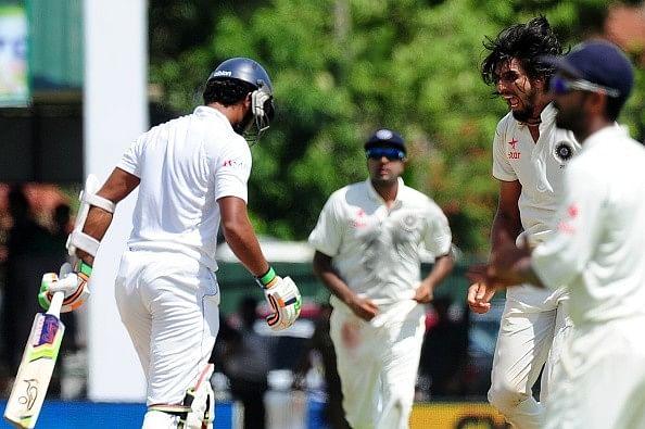 Sri Lanka vs India: What made Ishant Sharma angry at Dhammika Prasad?
