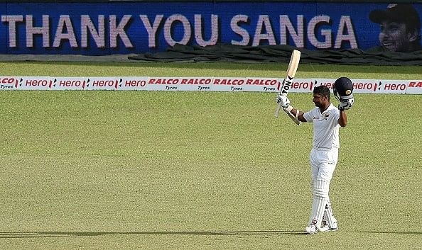 Kumar Sangakkara's Test career in pictures