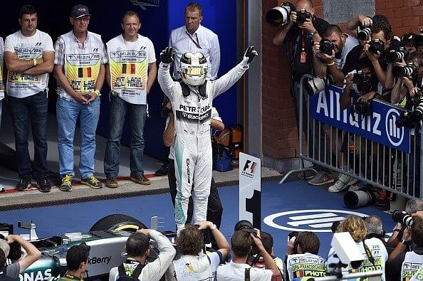 Lewis Hamilton wins the Belgian Grand Prix