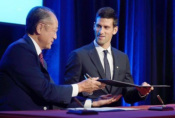 Novak Djokovic appointed UNICEF Goodwill ambassador