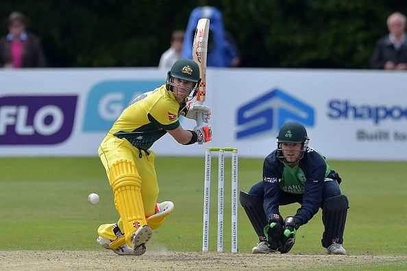 Australia beat Ireland by 23 runs in the rain affected one-off ODI