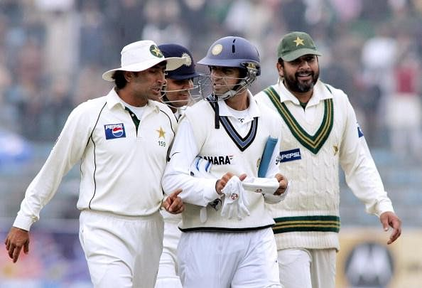 Younis Khan thanks Indian great Rahul Dravid for his success
