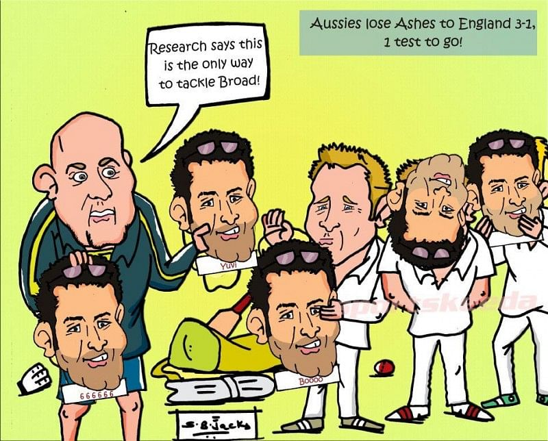 Aussies strategy to tackle Broad in last test!