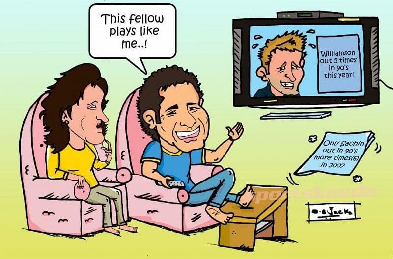 Like Sachin, like Williamson!