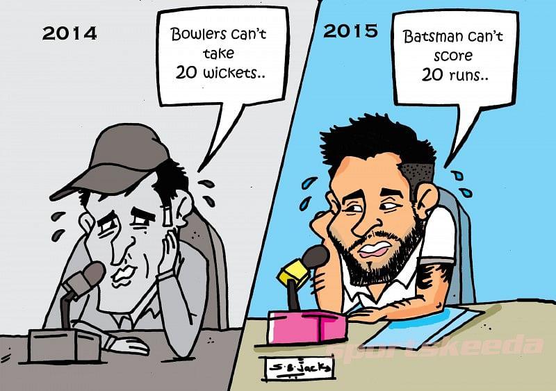 Team India: New guard, new problem