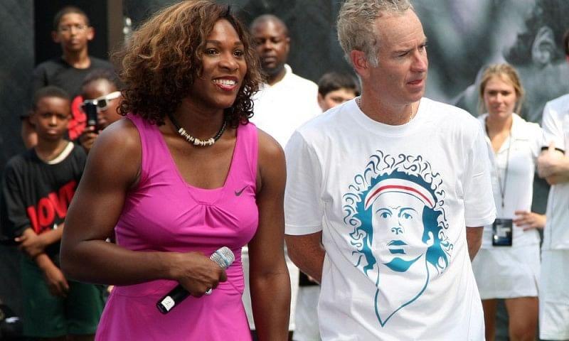 John McEnroe says he can beat current World No. 1 Serena Williams