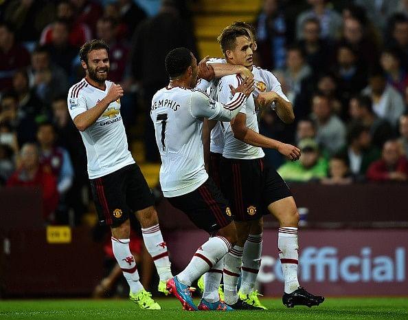 Adnan Januzaj's goal helps Manchester United defeat Aston Villa 1-0