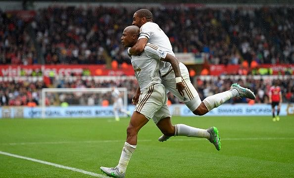 Swansea come from behind to register 2-1 win over Manchester United