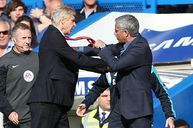 War of the Words: Top 5 battles between Arsene Wenger and Jose Mourinho