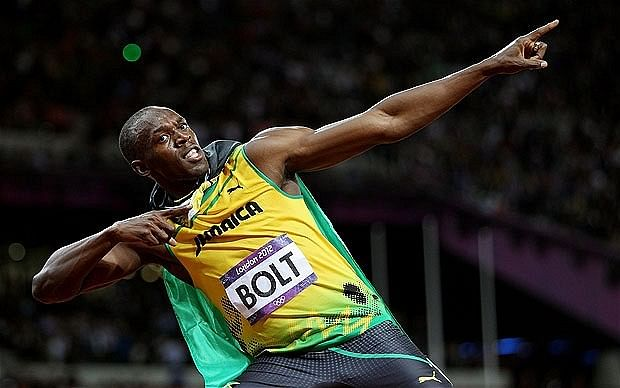 Where does Usain Bolt rank among the greatest sportspersons of all time?