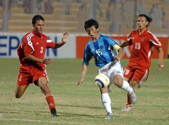 5 greatest football games between India and Nepal