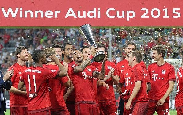 Bayern Munich beat Real Madrid 1-0 to lift Audi Cup