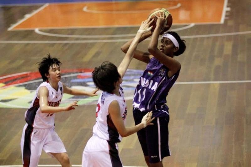 Indian U16 girls basketball team falls to Japan on day two of FIBA Asia Championship