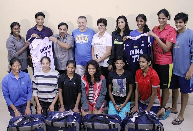 Indian National Senior Women's basketball team set to leave for FIBA Asia Championship