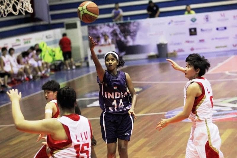 Indian U16 girls basketball team shows improvement in loss to China