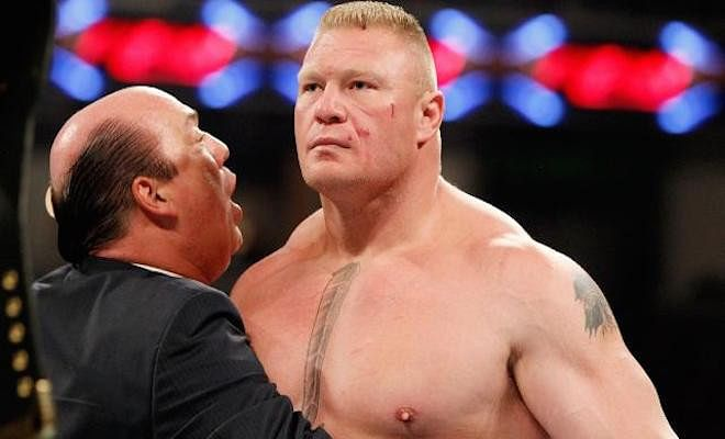Questions about Lesnar's live event appearance and Patrick's future with the company