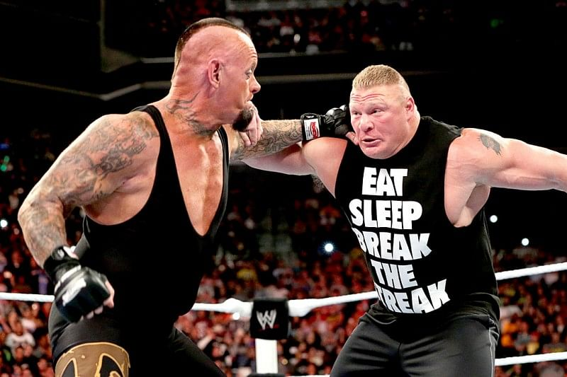 How can Sting vs The Undertaker happen?