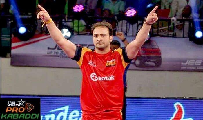 Manjeet Chhillar's charge in season 2 of Star Sports Pro Kabaddi