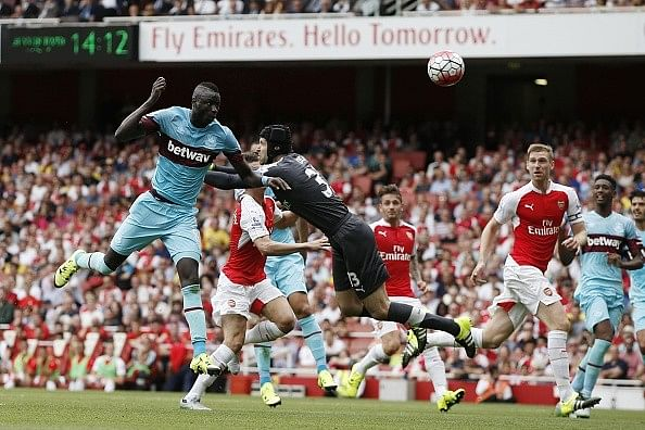 Arsenal go down 2-0 against West Ham United in their Premier League opener