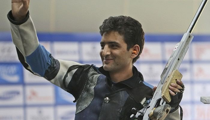 India's Chain Singh seals an Olympic quota in the 50m Rifle 3 Position event