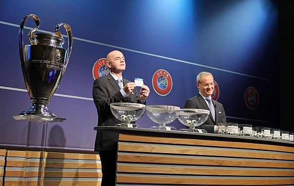 champions league qualification draw