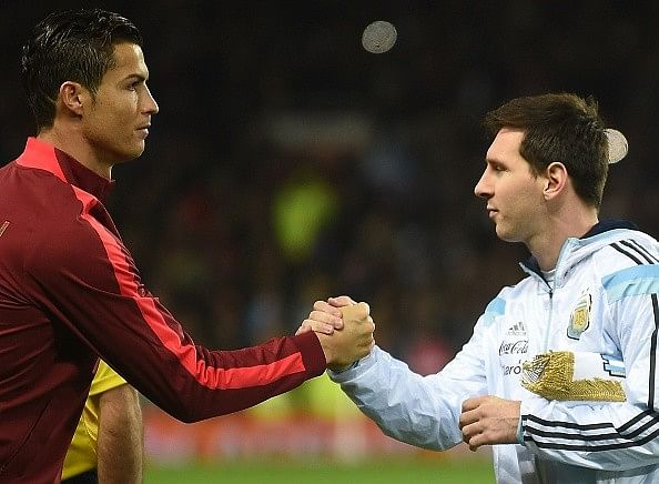 Lionel Messi names Cristiano Ronaldo as one of his toughest opponents