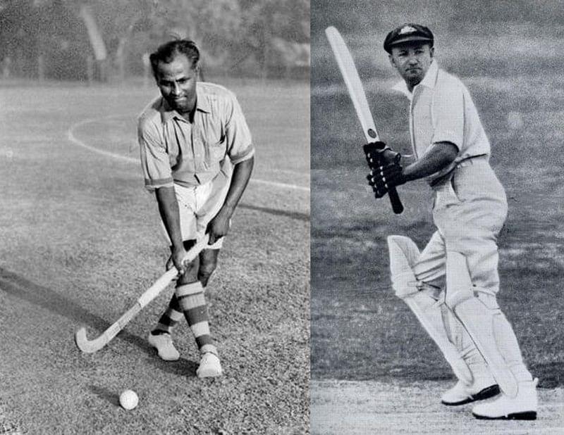 The Dhyanchand-Bradman meet: When India's greatest hockey player met Australia's greatest batsman