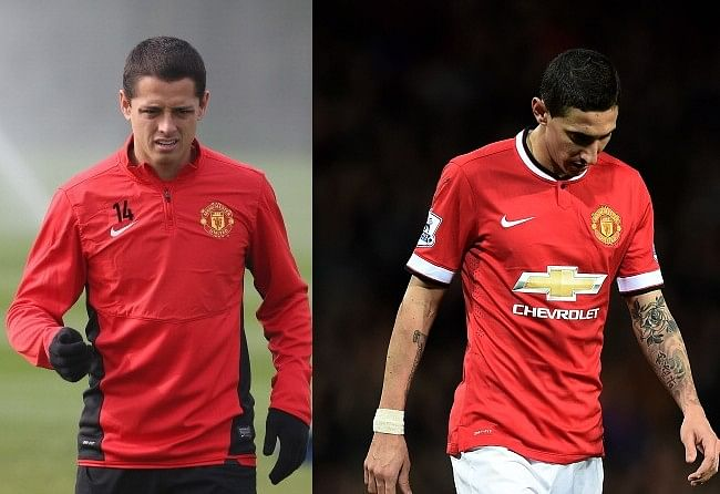 The Chicharito-Di Maria dilemma at Manchester United: Where will they be next season?