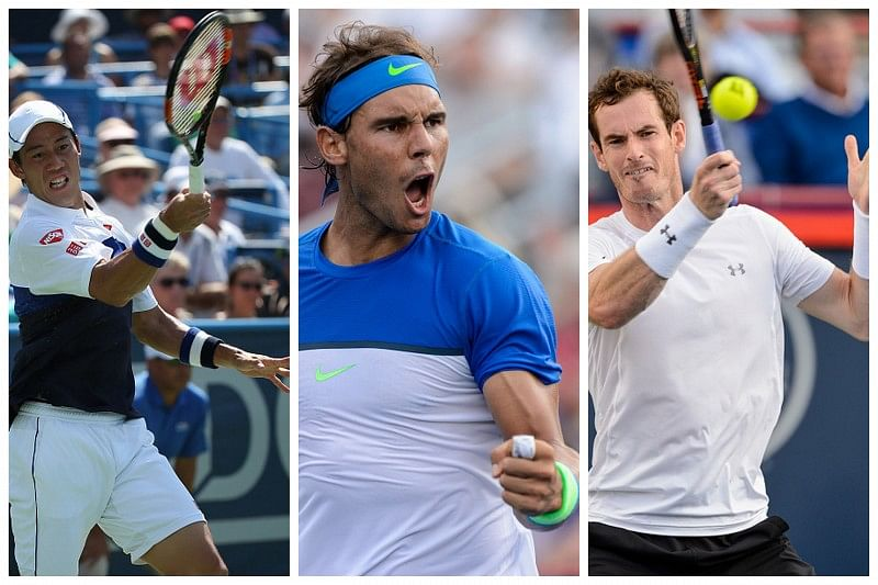 Murray, Nadal, Nishikori in Round 3 at Rogers Cup