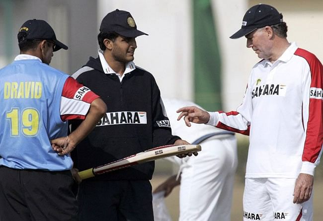 Former India team manager speaks on how Sourav Ganguly reacted to Chappell's infamous chat