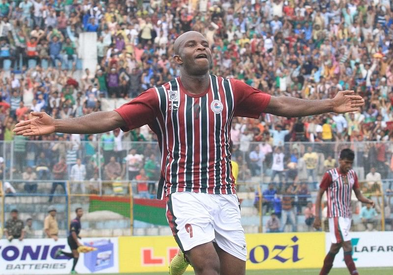 Mohun Bagan beat Tollygunge Agragami 3-1 in the Calcutta Football League