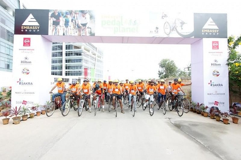 Embassy Group all set to host the second edition of 'Embassy Pedal for the Planet'