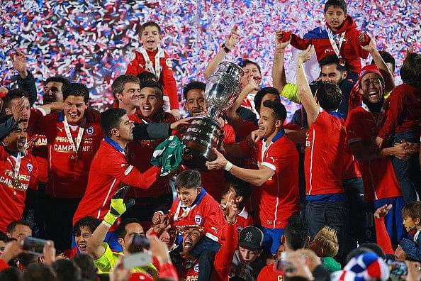 Chile move into top 10 of FIFA Rankings, Germany slip to third