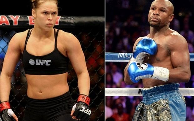 Ronda Rousey gives it back to Floyd Mayweather,  Edgar vs Mendes announced