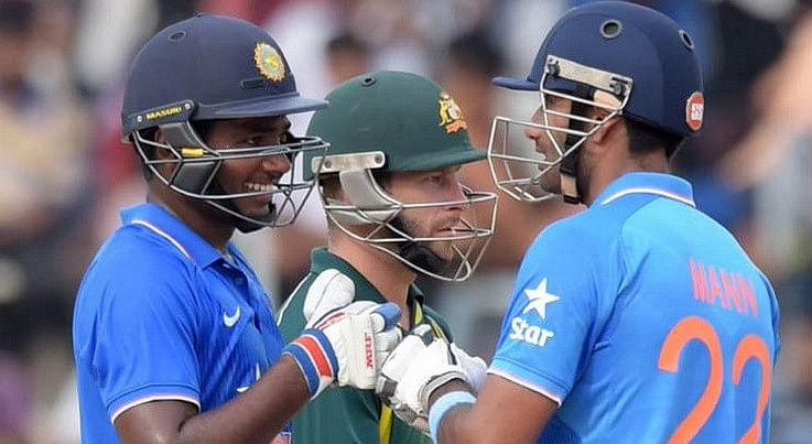 Australia 'A' captain Usman Khawaja alleges Sanju Samson spat on his players