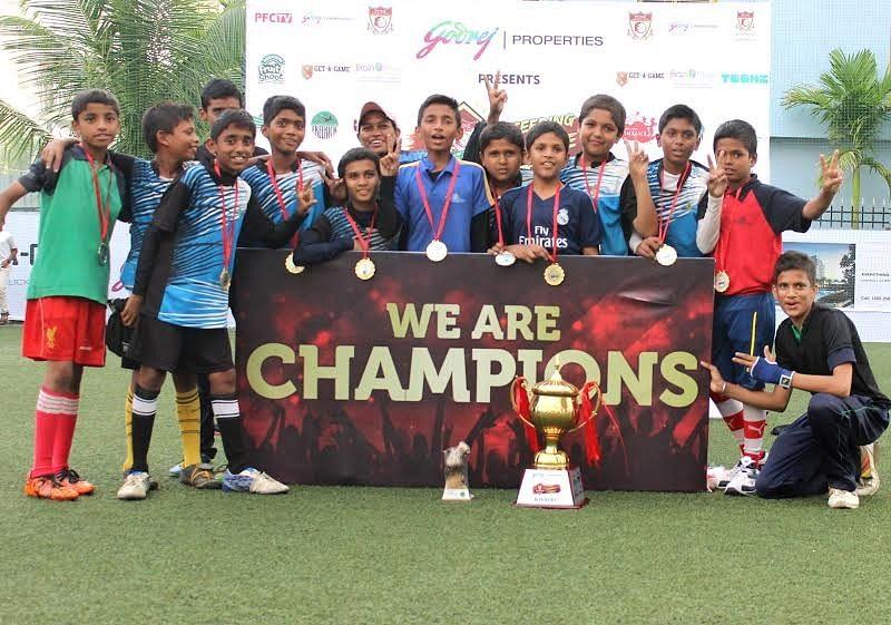 Bharati Vidyapeeth, Balewadi are Pune FC Futsal Cup Champions