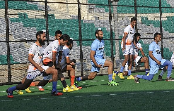 India's training commences for World Hockey League Finals