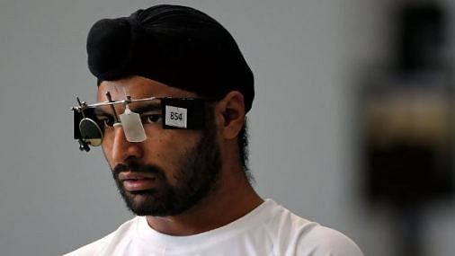 Gurpreet Finishes Fifth in Rapid Fire Pistol Final
