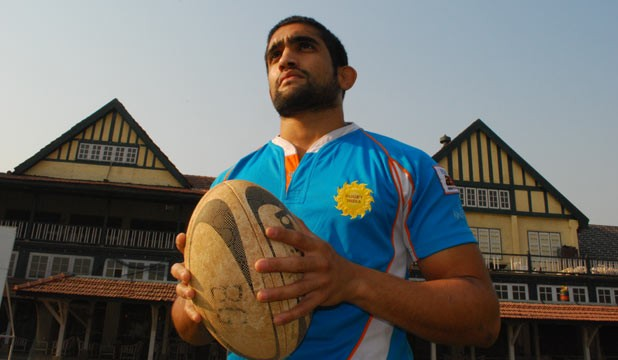 How India's rugby captain Hrishikesh Pendse is brushing shoulders with the world's finest