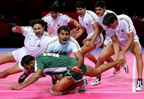 India's dominance over Pakistan in kabaddi